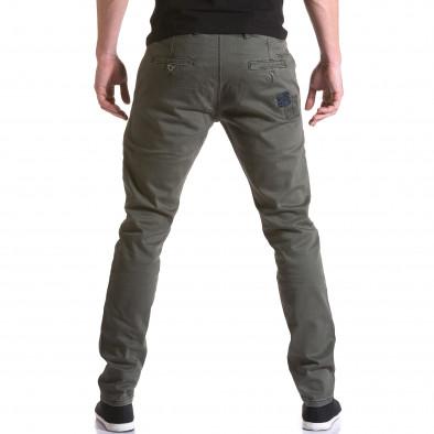Pantaloni Y-Two verzi bărbați it031215-17 3