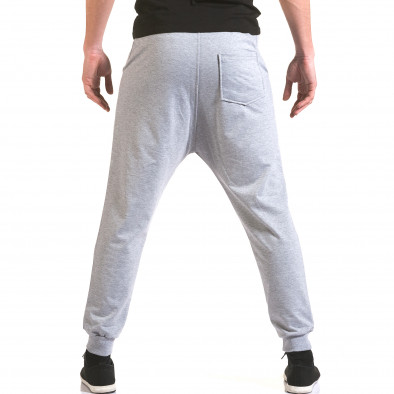 Pantaloni baggy bărbați Franklin gri il170216-140 3