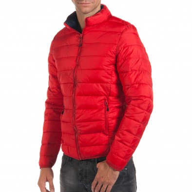 Geacă de primăvară-toamnă bărbați Adrexx roșie it190616-19 4