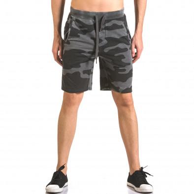 Pantaloni scurți bărbați Top Star camuflaj ca050416-47 2