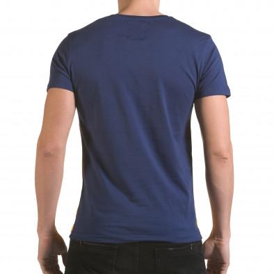 Tricou bărbați Franklin albastru il170216-12 3