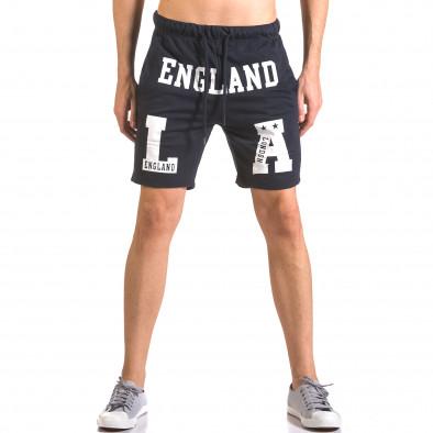 Pantaloni scurți bărbați Furia Rossa albaștri ca050416-36 2