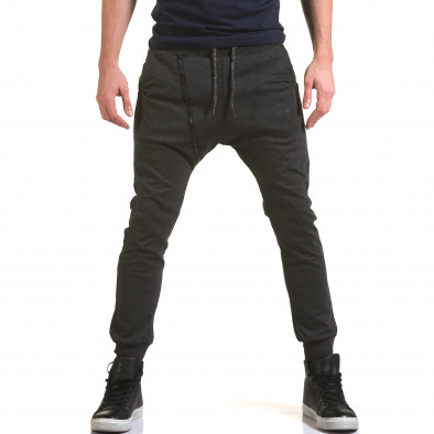 Pantaloni baggy bărbați Jack Berry gri it090216-50 2