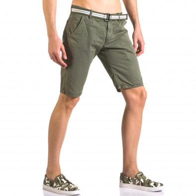 Pantaloni scurți bărbați Top Star verzi ca050416-64 4