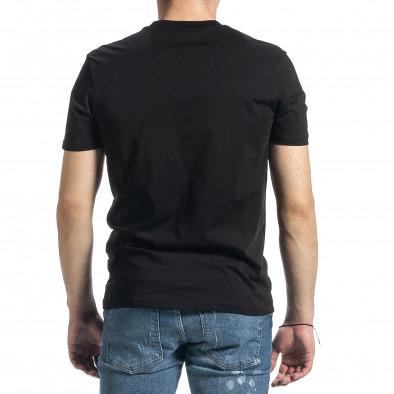 Tricou bărbați Breezy negru tr270221-46 3