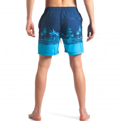 Costume de baie bărbați Austar Jeans albastru it250416-41 3
