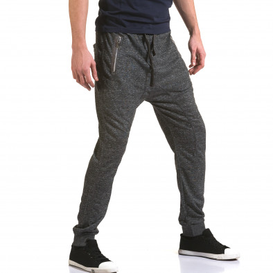 Pantaloni baggy bărbați Dress&GO gri it090216-36 4