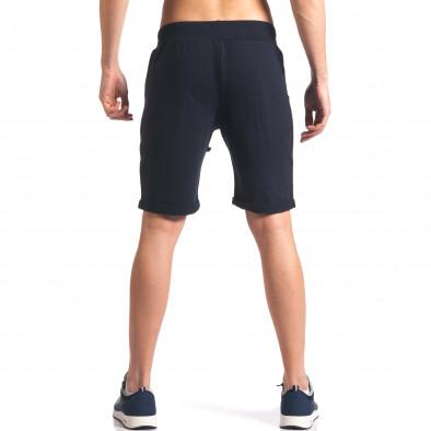 Pantaloni scurți bărbați New Men albaștri it260416-29 3