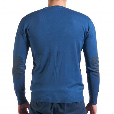 Pulover bărbați Invictus albastru it010416-4 3