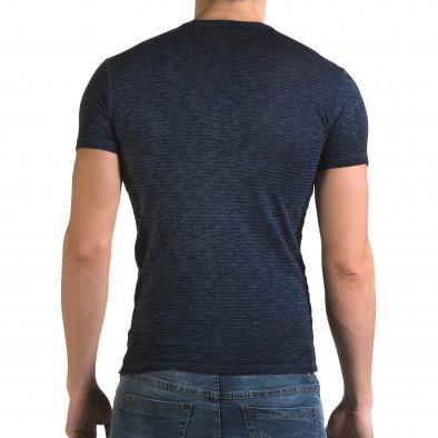 Tricou bărbați Lagos albastru il120216-48 3