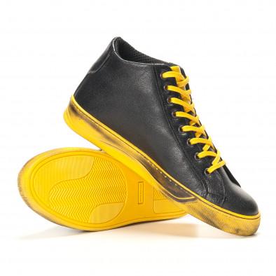 Teniși bărbați Shoes in Progress negri it141016-5 4