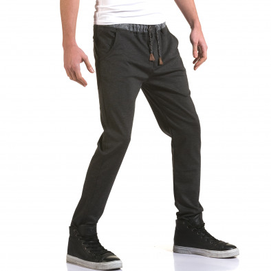 Pantaloni bărbați Jack Berry gri it090216-31 4