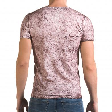 Tricou bărbați Lagos roz il120216-18 3