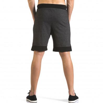Pantaloni scurți bărbați Furia Rossa negri it110316-78 3