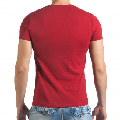 Tricou bărbați Just Relax roșu il140416-52 3