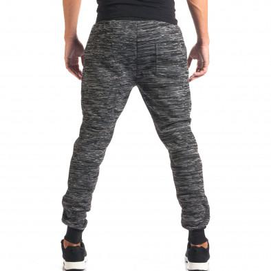Pantaloni baggy bărbați Urbaboy gri it160816-33 3