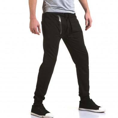 Pantaloni baggy bărbați Belmode negri it090216-44 4