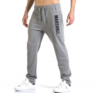 Pantaloni bărbați Marshall gri it110316-16 4