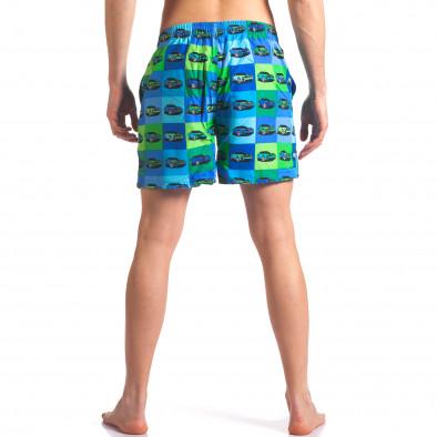 Costume de baie bărbați Y Chromosome albastru it260416-43 3