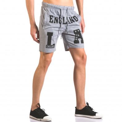 Pantaloni scurți bărbați Furia Rossa gri ca050416-38 4