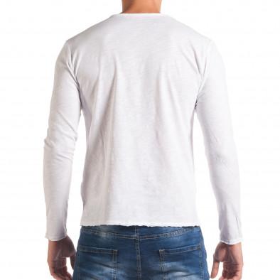 Bluză bărbați Y-Two albă it180816-3 3