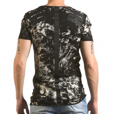 Tricou bărbați 2Y Premium negru tsf060416-2 3