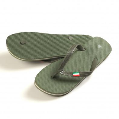 Papuci bărbați FM verzi it150616-6 3