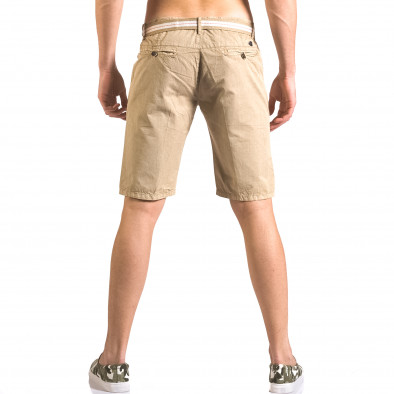 Pantaloni scurți bărbați Top Star bej ca050416-66 3