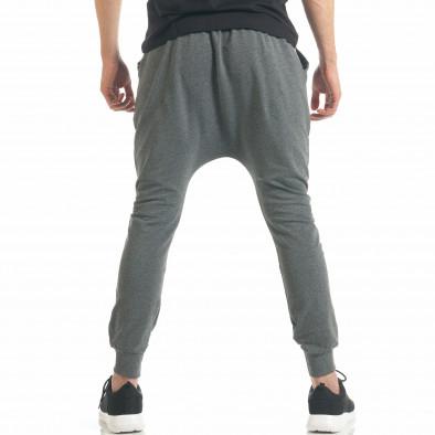 Pantaloni baggy bărbați Black Fox gri it300317-26 4
