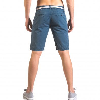 Pantaloni scurți bărbați Top Star albaștri ca050416-65 3