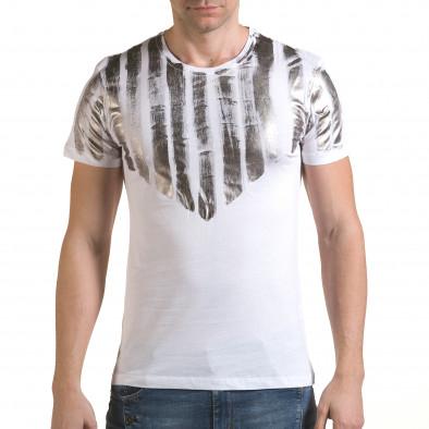Tricou bărbați SAW alb il170216-50 2