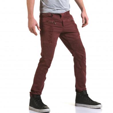 Pantaloni bărbați Maximal roșii it090216-9 4