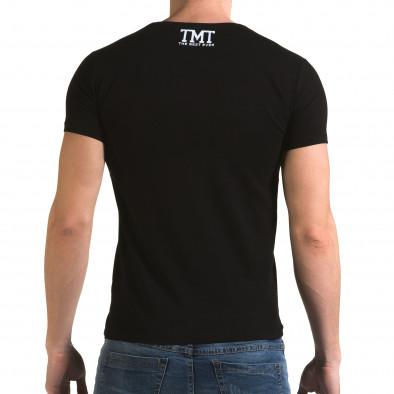 Tricou bărbați Glamsky negru il120216-64 3