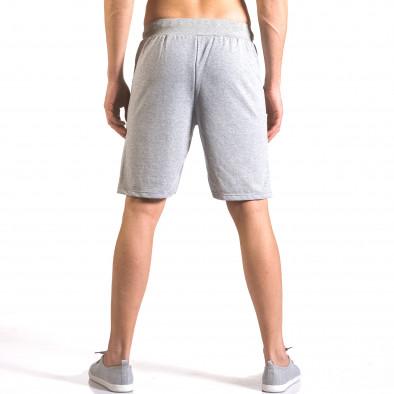 Pantaloni scurți bărbați Me & You gri ca050416-42 3