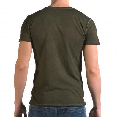 Tricou bărbați Lagos verde il120216-3 3