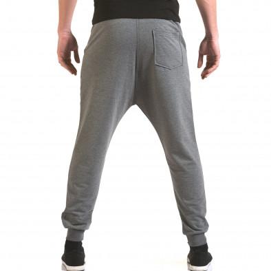 Pantaloni baggy bărbați Franklin gri il170216-141 3