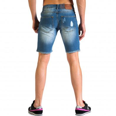 Blugi scurți bărbați Always Jeans albaștri ca030414-2 3