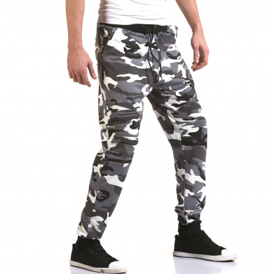 Pantaloni baggy bărbați Maximal camuflaj it090216-60 4