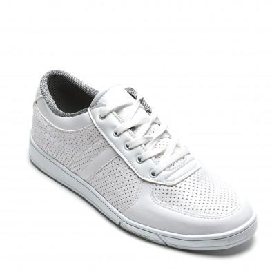 Pantofi sport bărbați Coner albi il160216-4 3