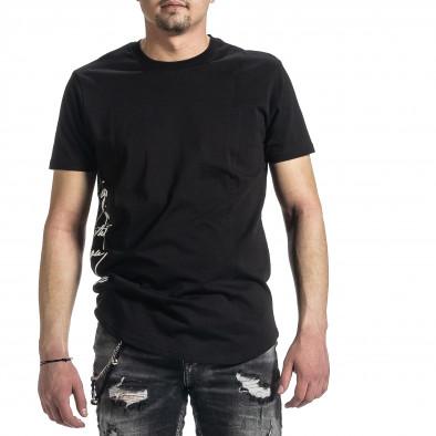 Tricou bărbați Breezy negru tr270221-50 3
