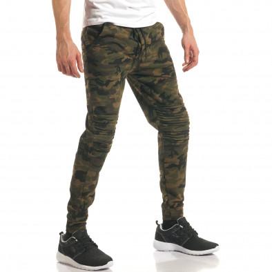 Pantaloni bărbați Enos camuflaj it140317-47 4