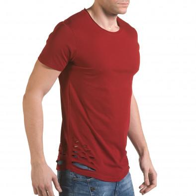 Tricou bărbați SAW roșu il170216-61 4