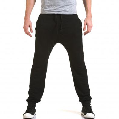 Pantaloni baggy bărbați Dress&GO negri it090216-39 2