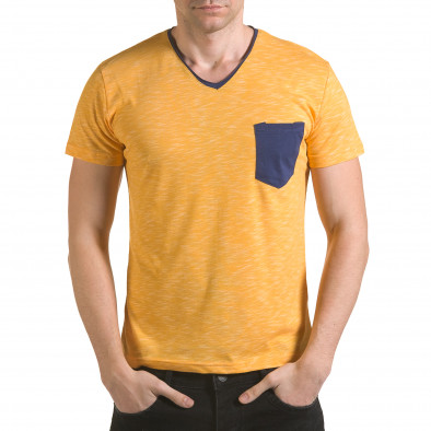 Tricou bărbați Franklin galben il170216-16 2