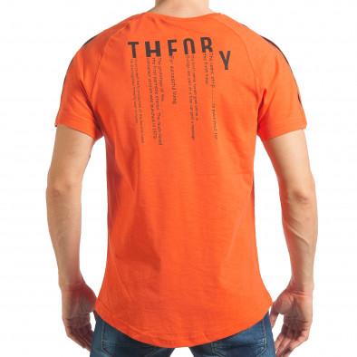 Tricou bărbați Madmext orange tsf020218-42 3