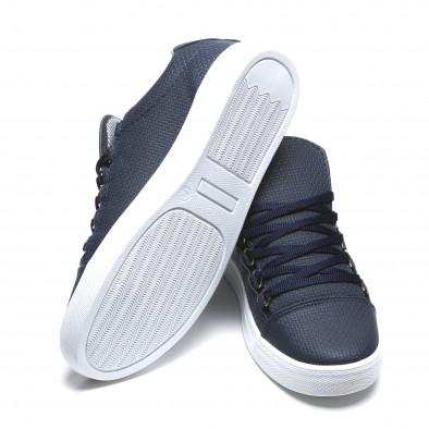 Pantofi sport bărbați Coner albaștri il160216-6 4