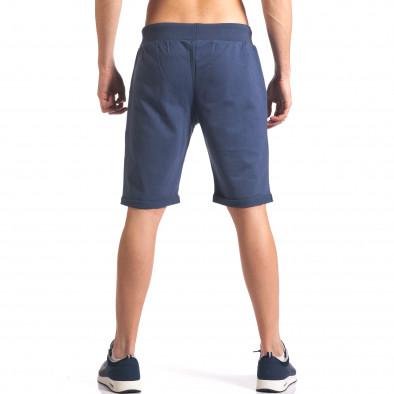 Pantaloni scurți bărbați New Men albaștri it260416-24 3