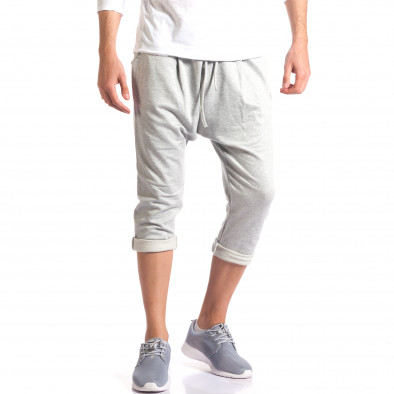 Pantaloni baggy bărbați FCSM gri it260416-38 4