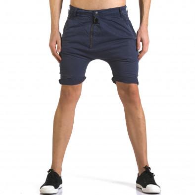 Pantaloni scurți bărbați Always Jeans albaștri it110316-36 2