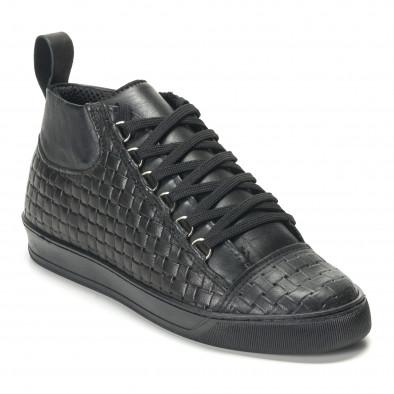 Teniși bărbați Shoes in Progress negri it140916-25 3